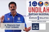PRAKASH RAO IS NOT A RIGHT CANDIDATE