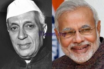 Modi Not Respecting Nehru