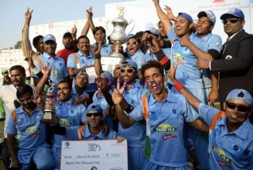 Visually Impaired Cricketers Made History