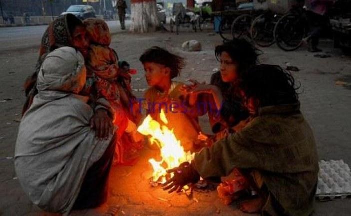 Severe Cold Hits North India