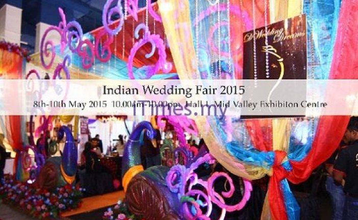 Malaysia's Premier Indian Wedding And Bridal Fair