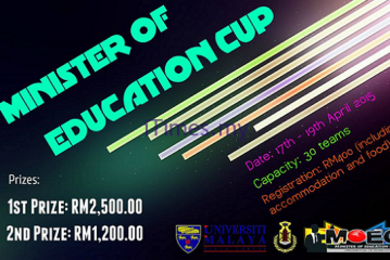 Minister Of Education CUP