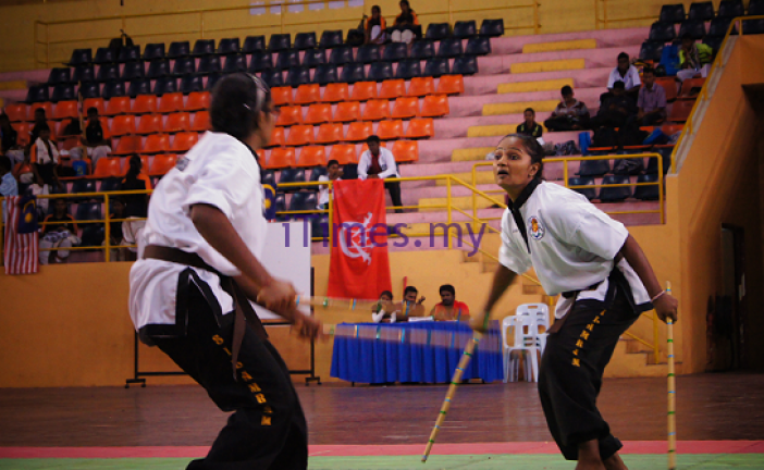 An Exclusive Silambam for Women